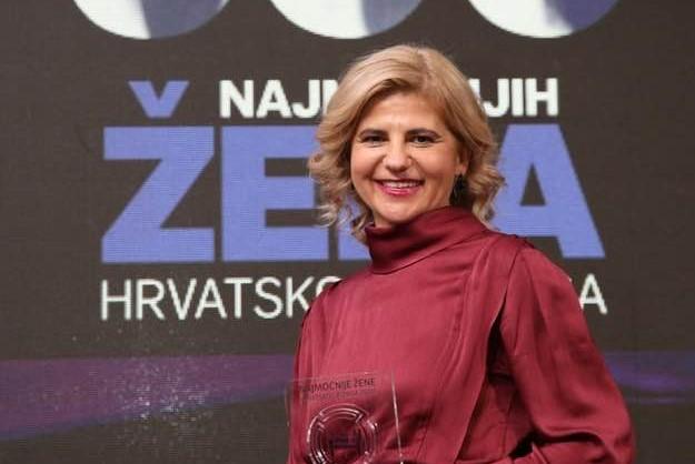 Predsjednica Uprave KTC-a Daliborka Kranjčić proglašena za jednu od najmoćnijih žena u hrvatskom biznisu