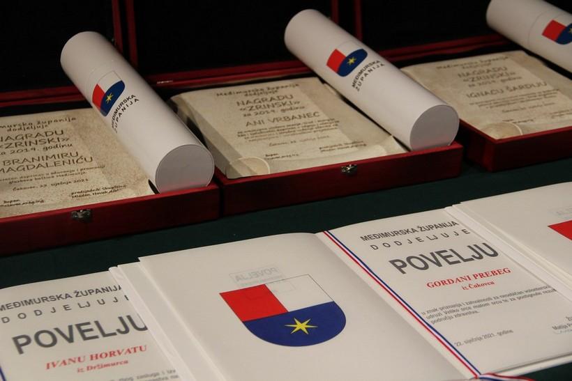 Dodjela javnih priznanja Međimurske županije (1)