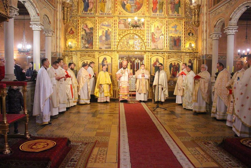 Svetom liturgijom u križevačkoj katedrali proslavljen blagdan Triju svetitelja, nebeskih zaštitnika Križevačke eparhije