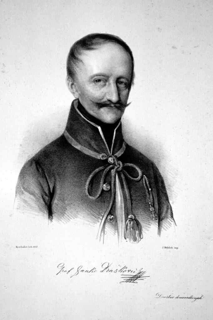 Janko_Drašković_Litho