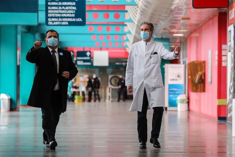 Ministar Beroš komentirao zabavu u Covid bolnici Dubrava i najavio kazne