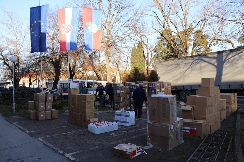 U Koprivnicu stiglo više od 80.000 komada različite zaštitne medicinske opreme za zdravstvene ustanove
