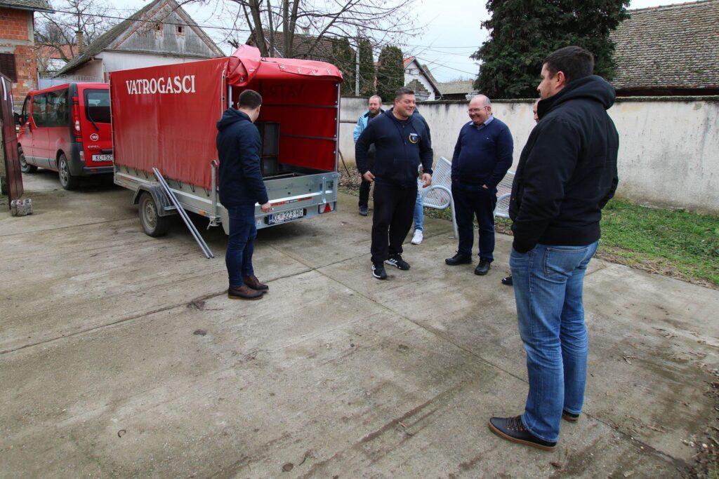 Koprivnički vatrogasci posjetili svoje pobratime iz DVD-a Aljmaš