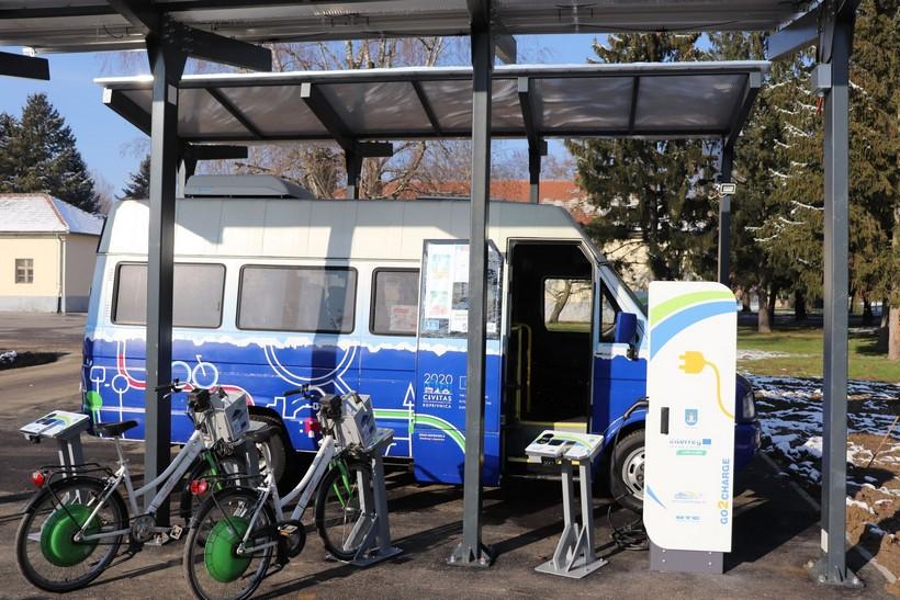 U Koprivnici puštena u pogon nova punionica za električni gradski autobus