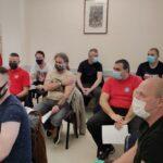 U županijskom Zavodu za javno zdravstvo organizirano cijepljenje pripadnika žurnih službi koji sudjeluju u akcijama pomoći na Banovini