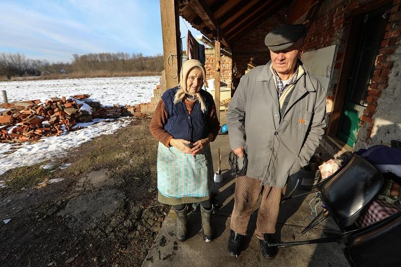 Baka Marija i djed Stjepan: Nemamo vode, ostale su nam 2-3 litre