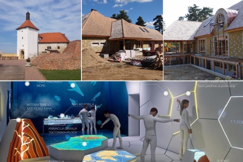 KREĆE POSTAVA Posjetiteljski centar u Đurđevcu oduševit će posjetitelje s prikazom nastanka pijesaka i novim tehnologijama