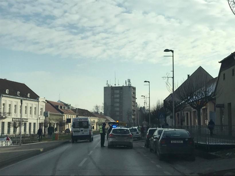 Policija utvrdila okolnosti prometne u središtu Križevaca