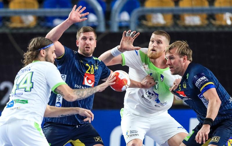SP Rukomet: Slovenija – Švedska 28-28