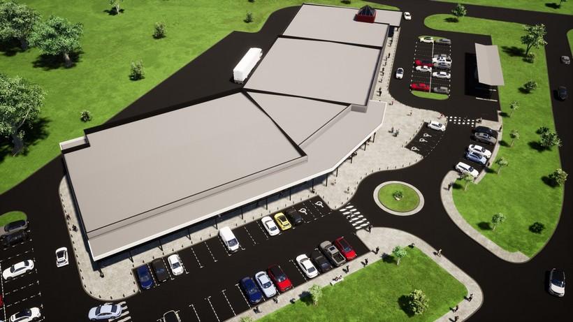 Počela gradnja novog dijela prodajnog centra u Svetom Ivanu Zelini