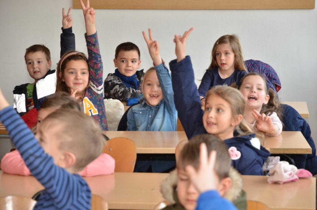 Na popisu za upis u prvi razred u OŠ Đurđevac ove godine više mališana nego lani
