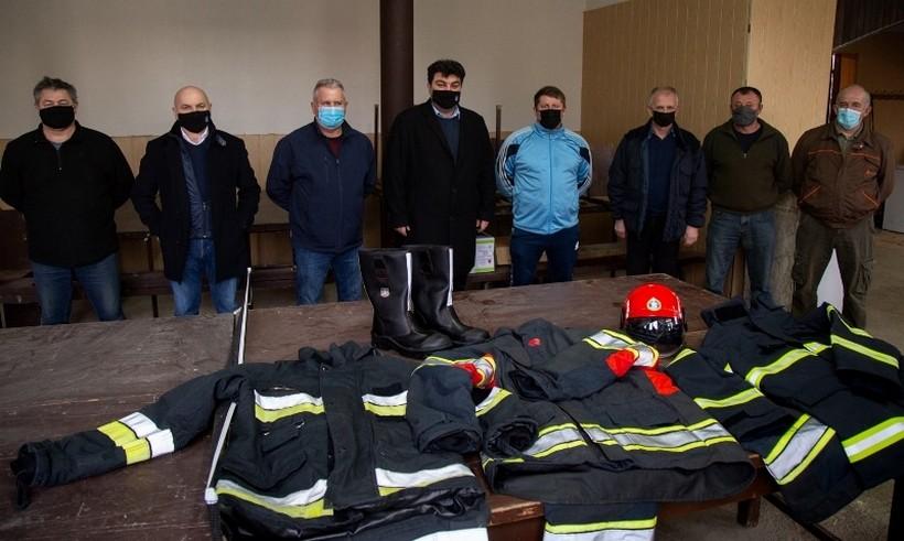 🖼️ Grad Križevci osigurao vrijednu opremu za križevačke vatrogasce
