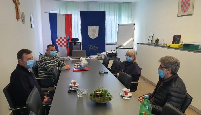 Saborski zastupnici posjetili Općinu Kloštar Podravski
