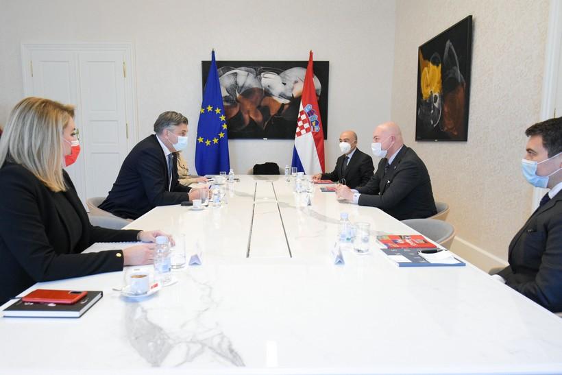 Premijer Plenković razgovarao s predstavnicima turske Dogus Grupe