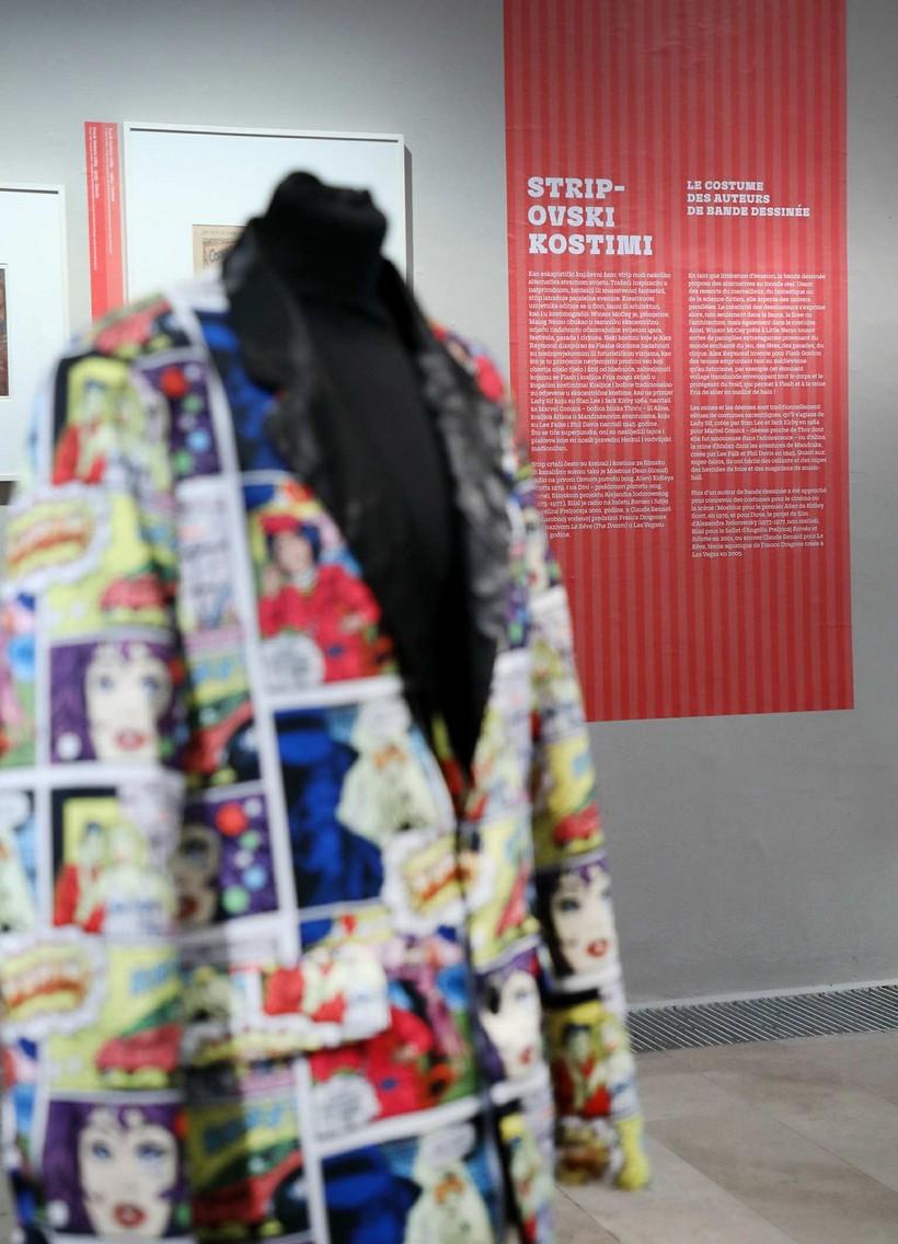 MUO« 3 Moda i strip» u zagrebačkom Muzeju za umjetnost i obrt 21.2.21..odt