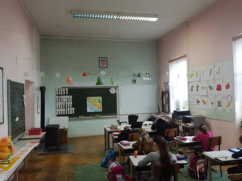 Područna škola Miklouš OŠ Čazma pred temeljitom energetskom obnovom