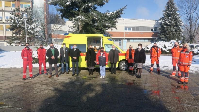 Međimurska županija izdvojila gotovo 3 milijuna kuna za rekonstrukciju i uređenje prostora djelatnosti sanitetskog prijevoza te za nabavku novog vozila i opreme