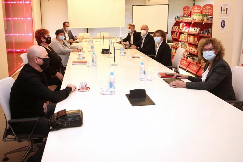 Nova šefica Podravke sastala se s predstavnicima Sindikata koji djeluju u tvrtke