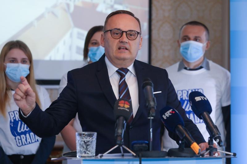 Berislav Mlinarević predstavio kandidaturu za osječkog gradonačelnika