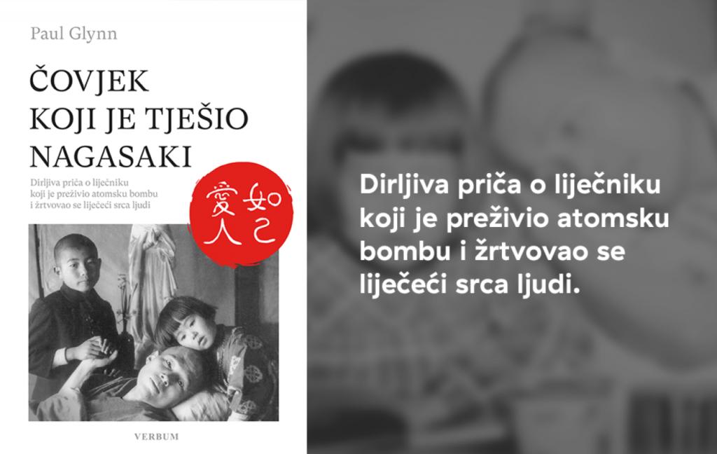 """Predstavljena Verbumova knjiga  """"Čovjek koji je tješio Nagasaki"""""""