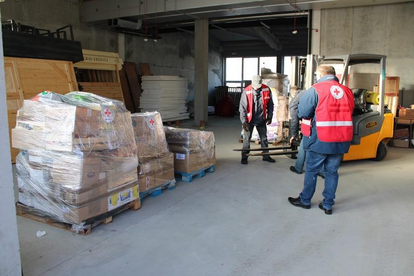 GDCK Križevci i dalje prikuplja humanitarnu pomoć za stanovništvo pogođeno potresom