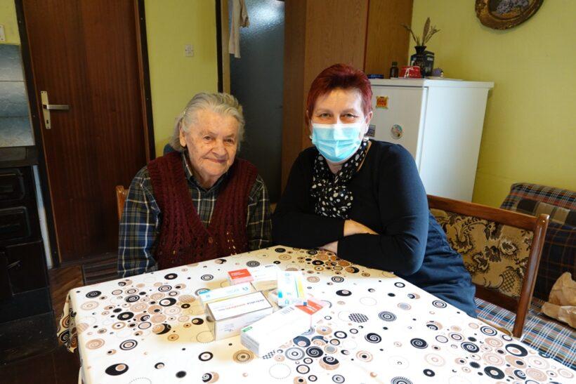 Mirjana Mišulin, jedna je od 25 gerontodomaćica s đurđevačkog područja: 'Volim svoj posao'