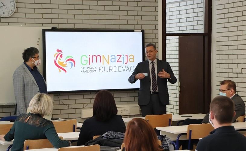 Župan Koren najavio nastavak s kapitalnim ulaganjima u srednjoškolsko obrazovanje na đurđevačkom području