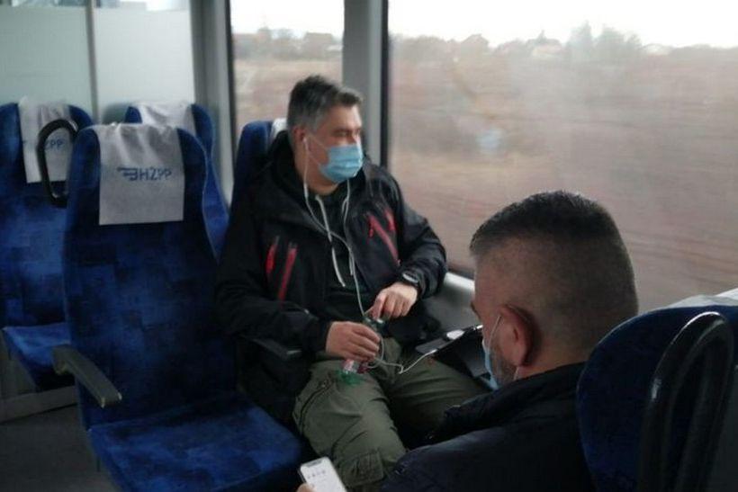 Predsjednik u vlaku; kontrola karata bila je uredna