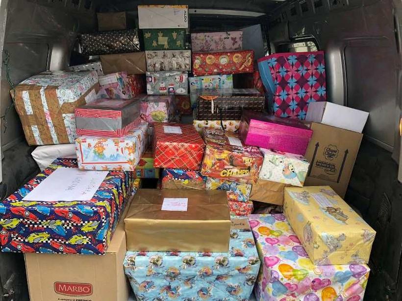 Djeca Križevaca za djecu Gline; isporučeno 140 paketa u Glinu