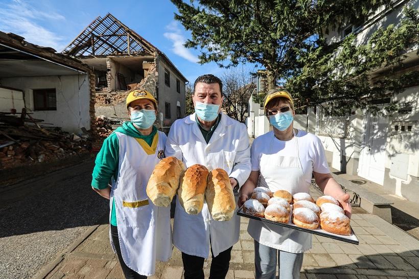 🎦 Pekarna Edi unatoč razornom potresu nije zaustavila proizvodnju kruha i peciva