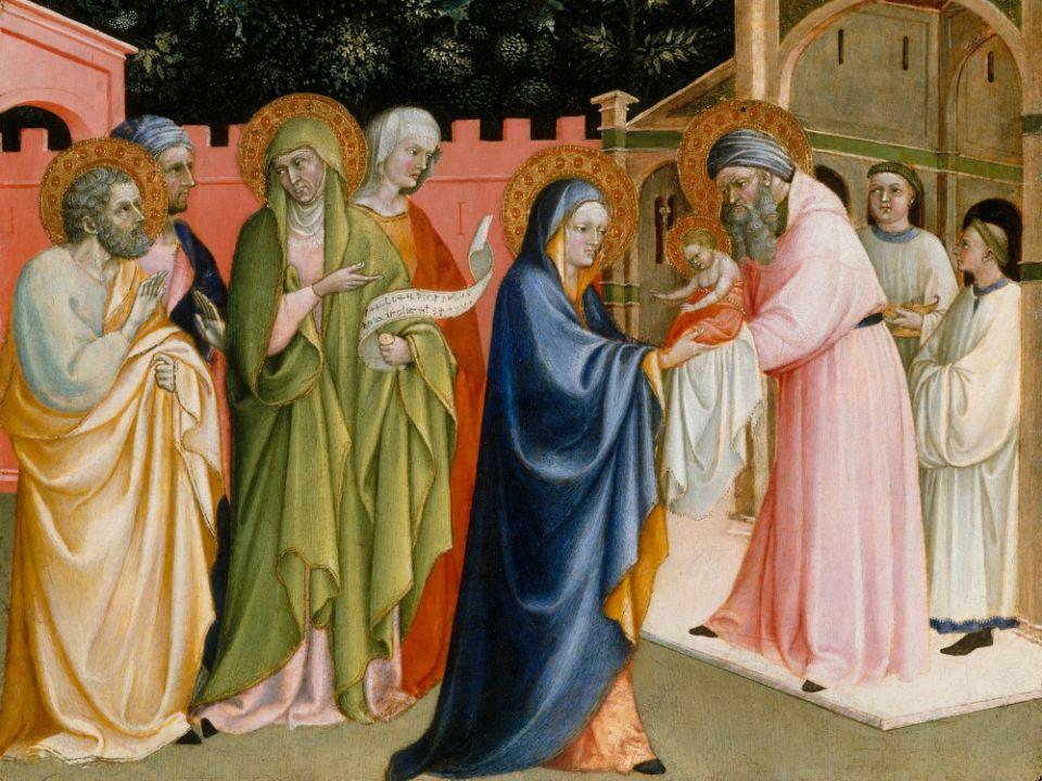 Blagdan je prikazanja Gospodinova – Svijećnica