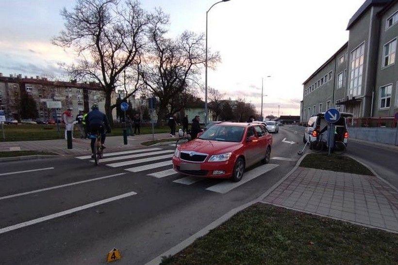 Biciklist s 2,74 promila u krvi izletio pred automobil