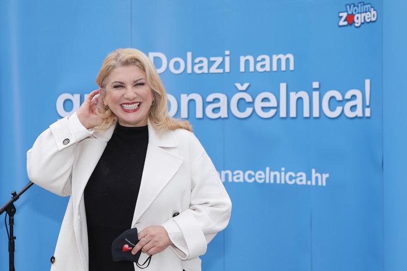 Škare Ožbolt: Želim pametan Zagreb na čelu s mladim ljudima