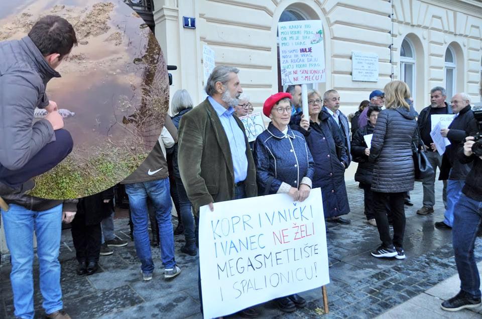 Iz Građanske inicijative poručili: 'Obmanjivanjem javnosti tvrtka izravno šteti stanovnicima Podravine i uzročnik je brojnih ekoloških ekscesa od 2015. godine'
