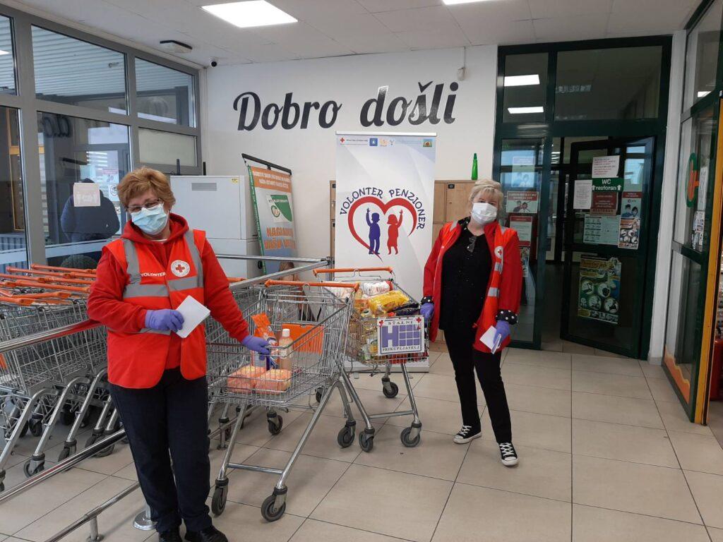 U Robnom centru KTC u Koprivnici prikupljeno 125 kilograma hrane i 13 komada higijenskih potrepština