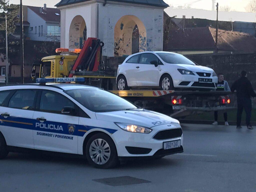 Policija utvrdila okolnosti prometne nesreće u Križevcima