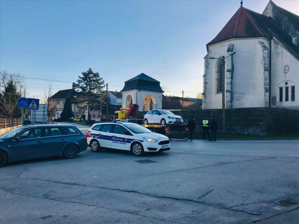 Prometna u Križevcima, promet je tijekom obavljanja policijskog očevida bio u prekidu