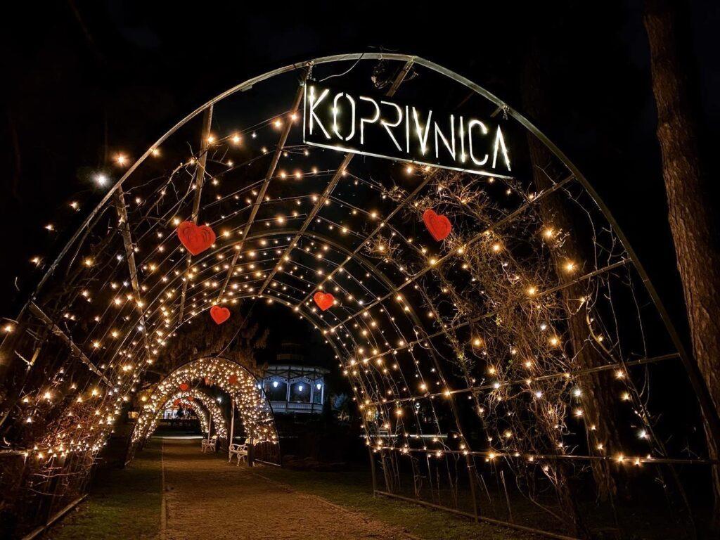 Grad Koprivnica i Komunalac pozivaju sve zaljubljene parove u povodu Valentinova u Gradski park