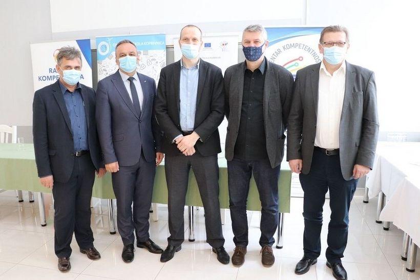 Potpisan Ugovor o javnoj nabavi usluge uspostave Centra kompetentnosti u Koprivničko-križevačkoj županiji