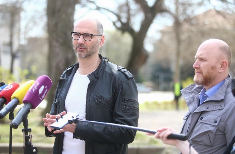 Zagreb: Joško Klisović i Renato Petek dali su izjavu medijima