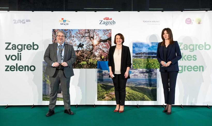ZAGREB VOLI ZELENO Odabranih 26 fotografija prikazuju zagrebačke zelene oaze i njegove prirodne ljepote