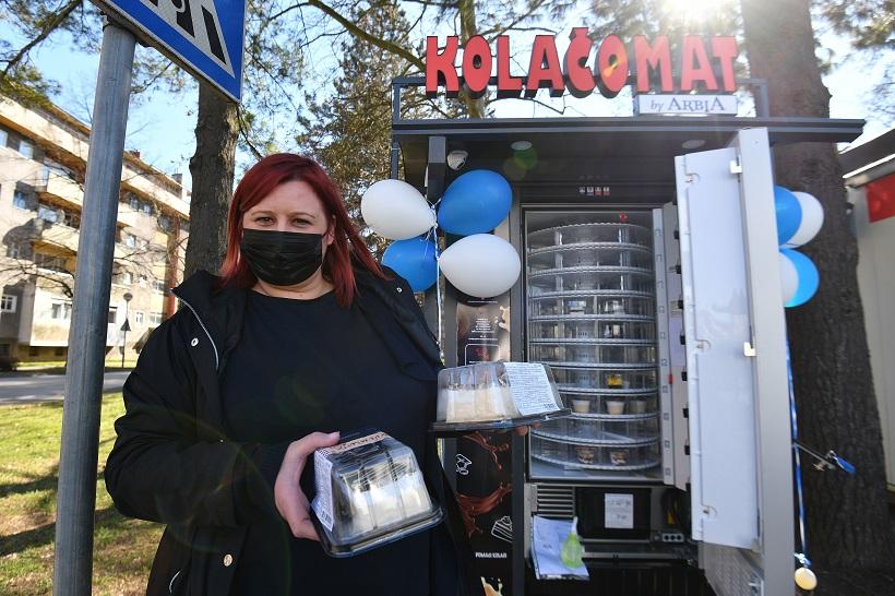 U Varaždinu otvoren prvi kolačomat u Hrvatskoj