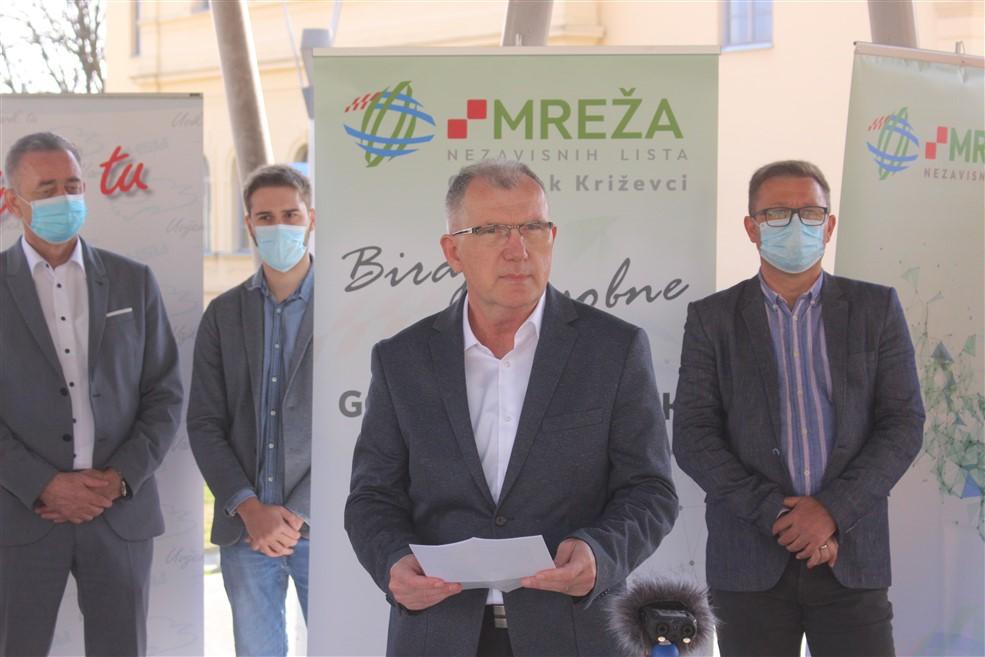 Goran Gregurek – kandidat MREŽA-e, HSU-a i HNS-a za gradonačelnika Križevaca
