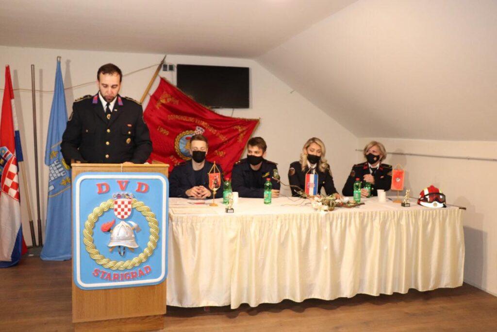 DVD Starigrad održao skupštinu, i u novom mandatu Društvo će voditi predsjednik Željko Cvrtila te zapovjednik Hrvoje Blažeković