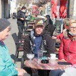 🖼️ Križevčani uživaju na suncem 'okupanim' terasama