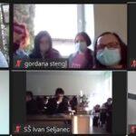 """Učenici i nastavnici SŠ """"Ivan Seljanec"""" Križevci educirali se na webinaru u okviru projekta Junior Engineer Academy"""