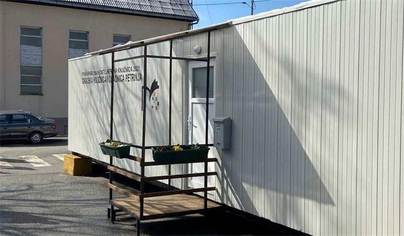 Otvorena prva hrvatska kontejnerska knjižnica u Petrinji