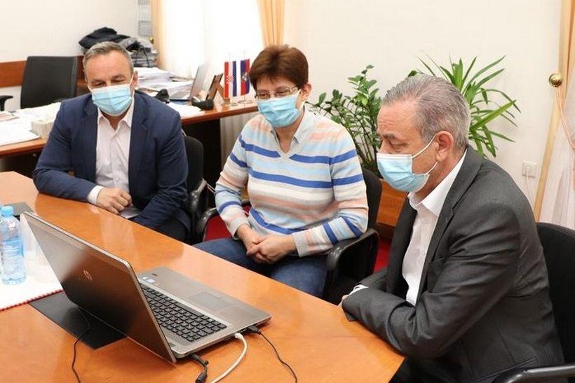 Župan Koren sudjelovao na sastanku Vlade, Ministarstva zdravstva, župana i zavoda za javno zdravstvo na temu organizacije cijepljenja