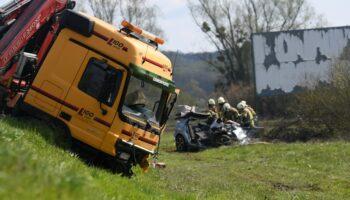 STRAŠNA TRAGEDIJA Dvije osobe poginule u sudaru kamiona i automobila na bjelovarskoj Sjevernoj obilaznici