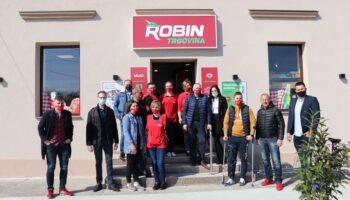OTVOREN NOVI ROBIN MARKET Navratite u novi Robin market i uvijek kupujte povoljno!